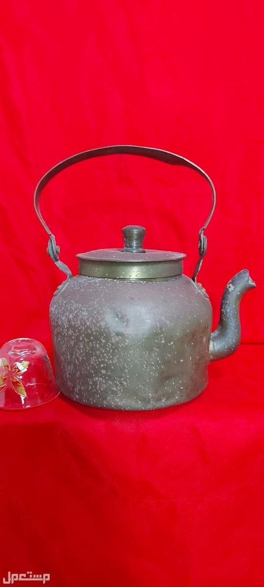 براد شاي نحاس تحفة تراثية قديمة نحاس وثقيل اعتقد هندي