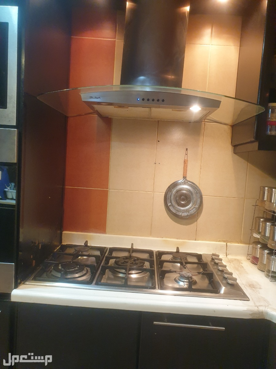 مطبخ مودرن اسود المنيوم