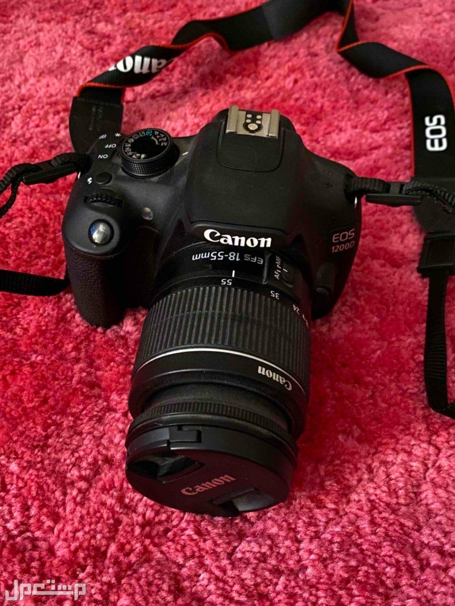 كاميرا كانون مستعمله EOS 1200