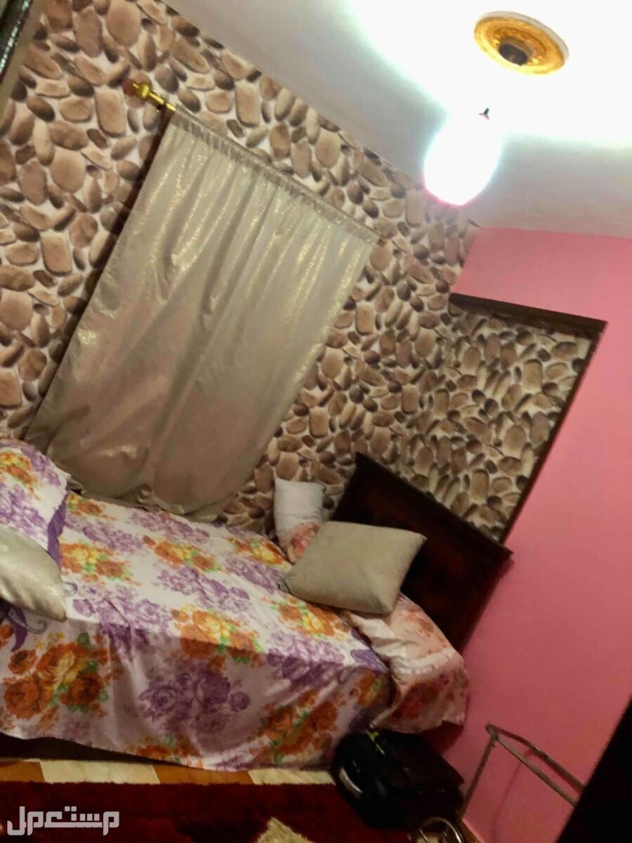شقة مصيفية للبيع غرفة النوم للأطفال