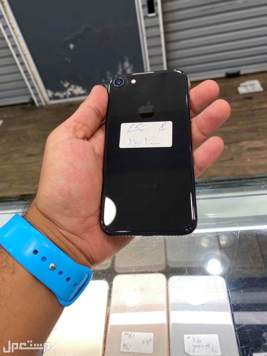 للبيع ايفون 8 مستخدم 256 اسود نظيف