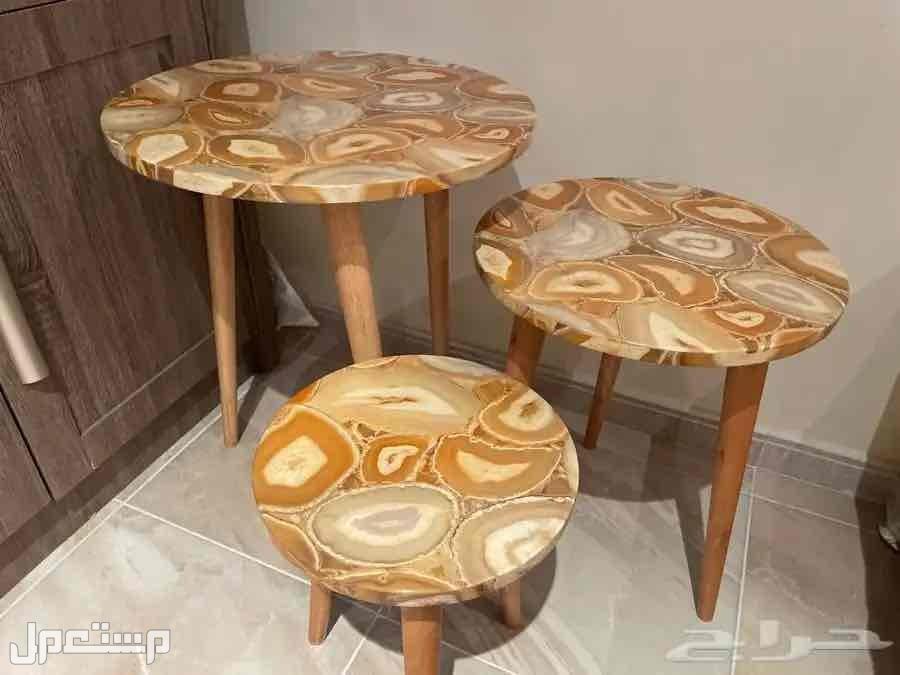 طاولات خدمة خشب
