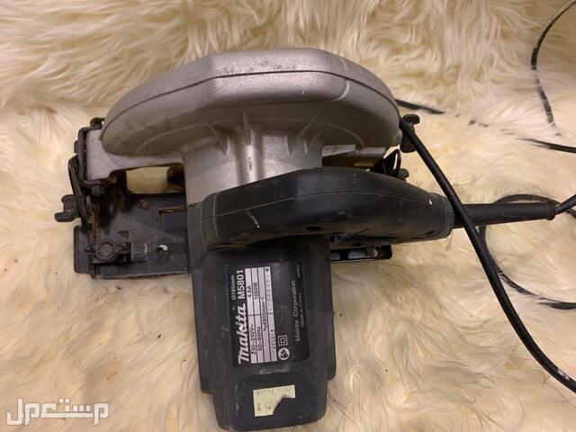 أجهزة كهربائية مستعملة مدة شهر واحد فقط المنشار ماكيتا الأصلي