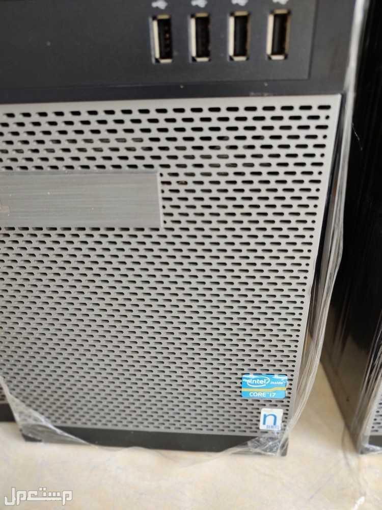 كمبيوترات مكتبية مستخدمة DELL المعالج i3 و i5 و i7 والرام 8 قيقا