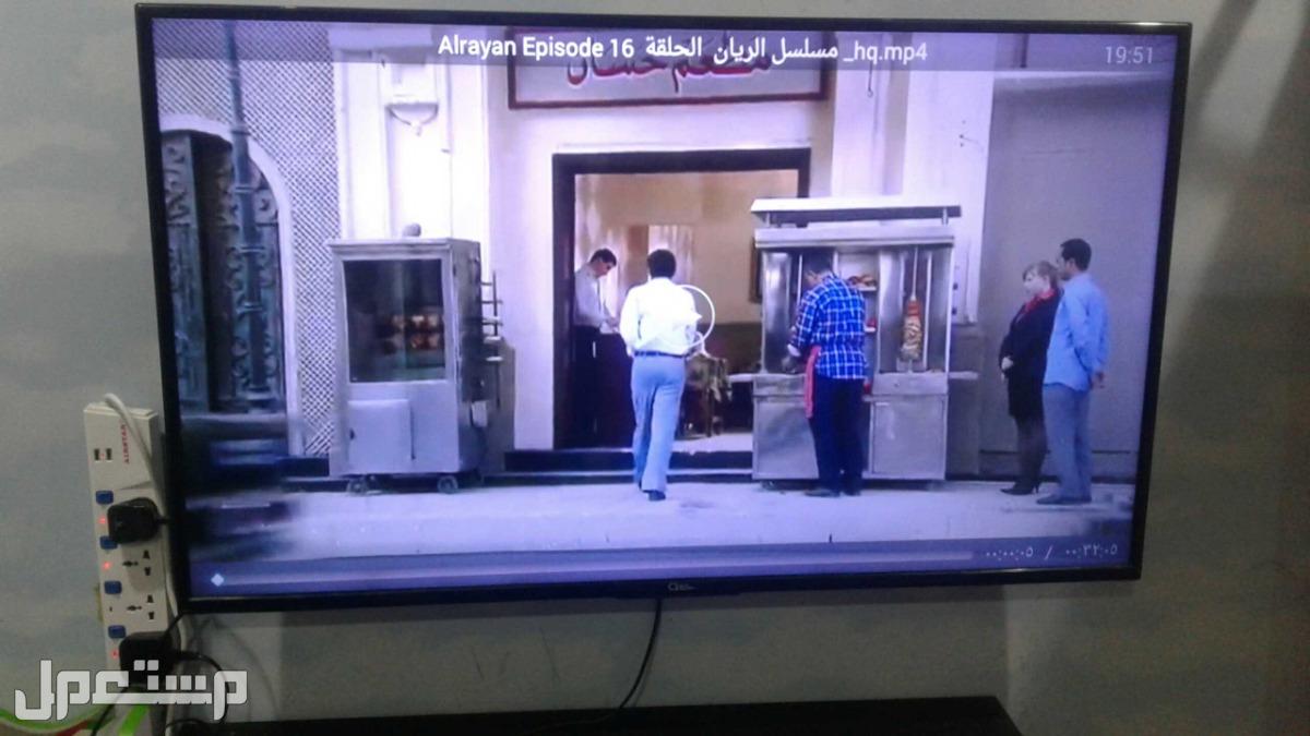 تلفزيون 49 بوصه نظام 4k  بحاله ممتازة خالي من اي مشاكل او اعطال