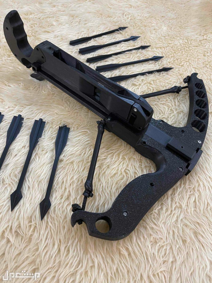 رامية اسهم - مسدس اسهم  يتم طباعتها بتقنية 3D