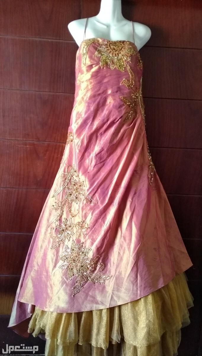 فستان ايطالى لسهرة او خطوبة وجه الفستان