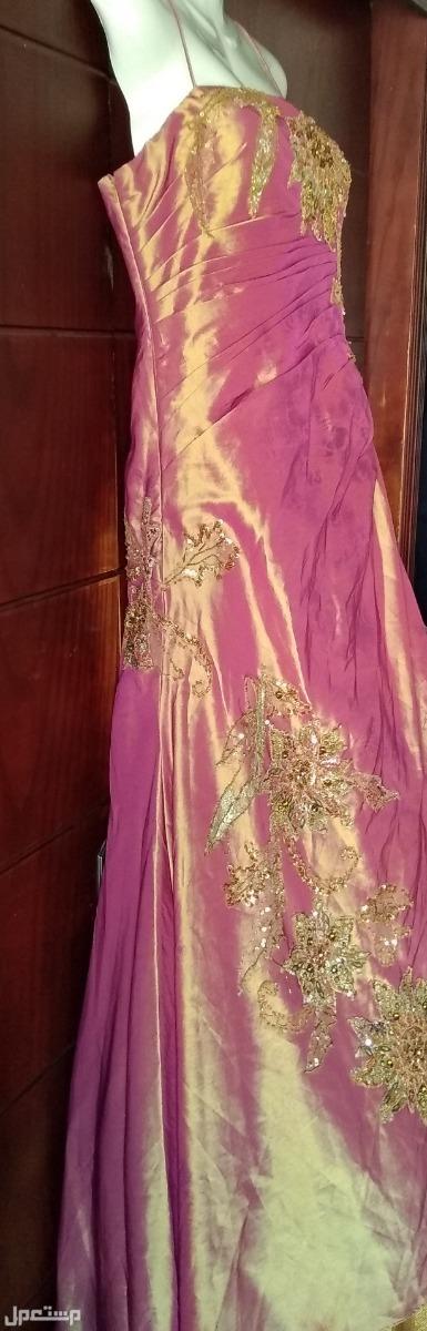 فستان ايطالى لسهرة او خطوبة سوستة جانبية