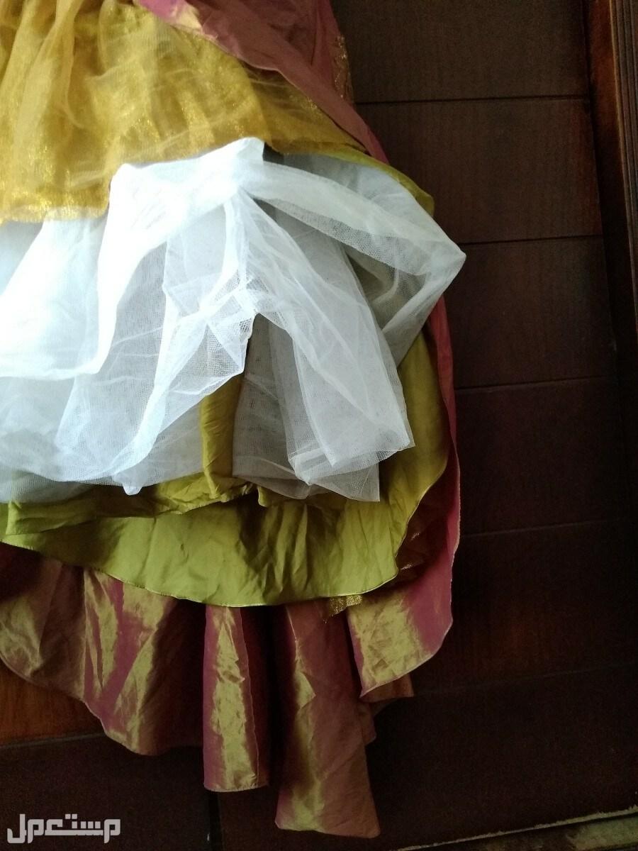 فستان ايطالى لسهرة او خطوبة طبقات الفستان