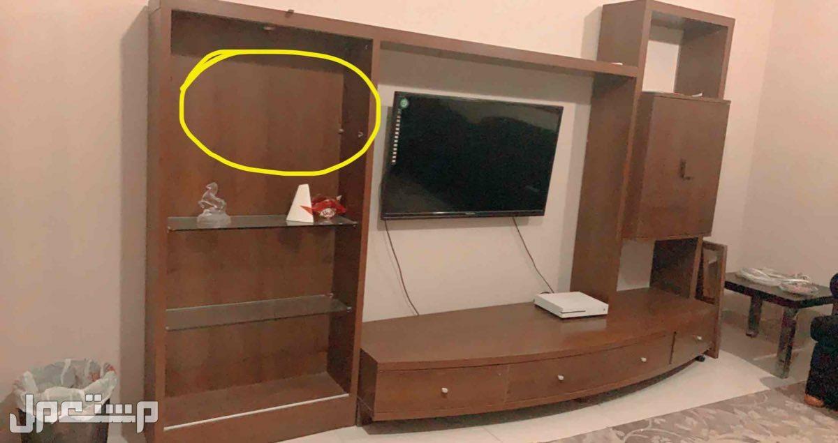 دولاب تلفزيون  نظيف