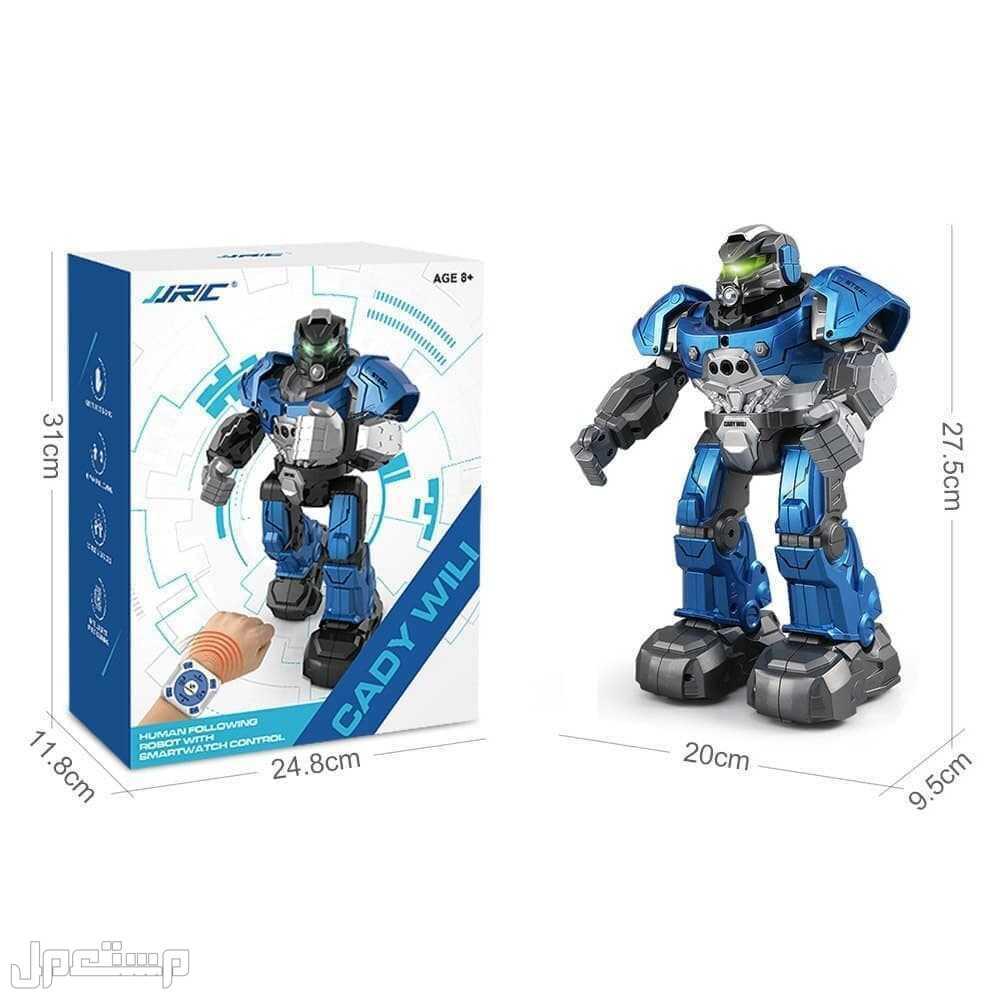 لعبة روبوت ذكي JJRC R5 RC Robot قابل للبرمجة يعمل بالتحكم عن بعد